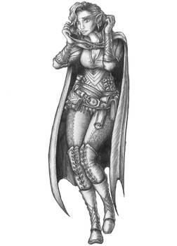 Lira - Half-elf Wild Sorcerer