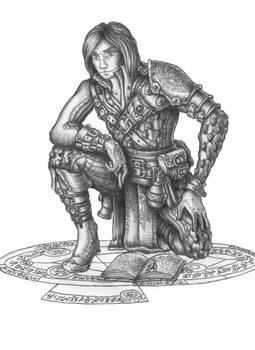 Mizgir - Human Gecktoss school Wizard