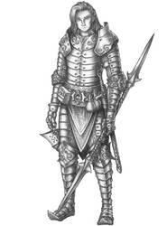 [COMMISSION] Kai - Half-elf Paladin