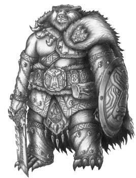 Sverr - Baawguy Bear totem Barbarian