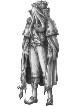 [COMMISSION] Varshoon - Illithid Wizard