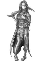 Aliko de Silveleadge - Human Fighter