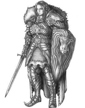 [COMMISSION] Eliot - Half-elf Eldritch Knight
