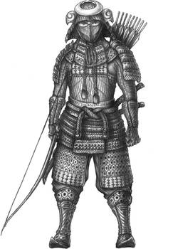 Genro Strongrange - Wood elf Samurai