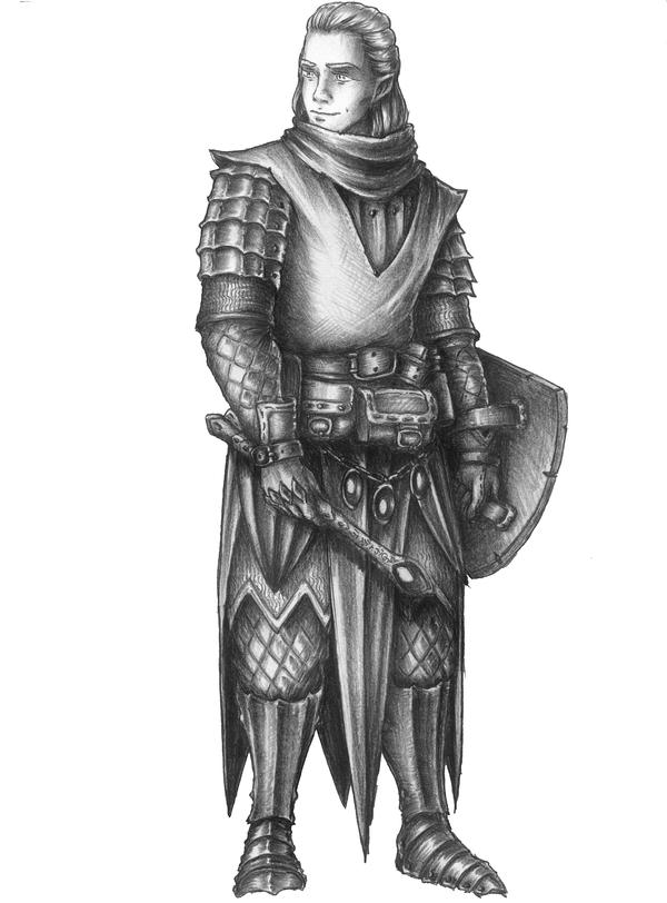 Lackeron - Half-elf Life domain Cleric/Divine Sorc