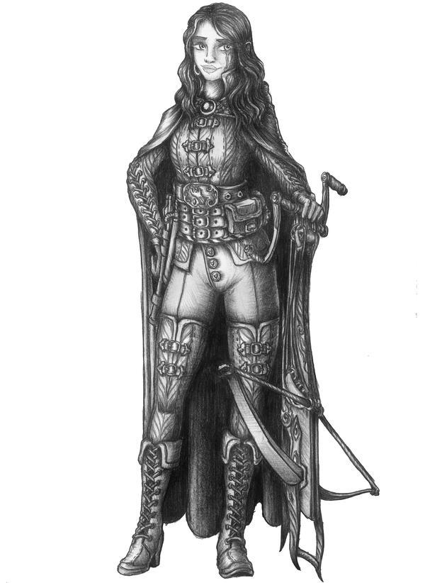 Aliko de Silverleadge - Human Fighter