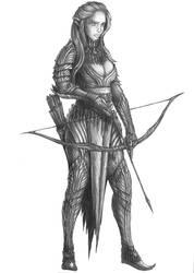 [COMMISSION] Ilanis Mystralath - Elf Ranger