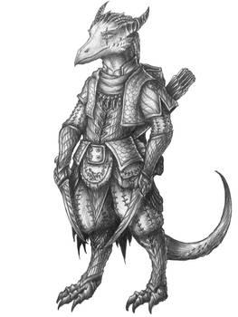 [COMMISSION] Ree'jaer - Kobold Rogue/Ranger