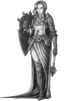 [COMMISSION] Anqis - Eladrin Paladin