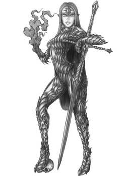 Bellatrix Gnash - Half-elf Hexblade