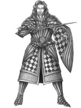Sir Cornelius Glairgaws-Human Purple dragon Knight