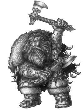 Emgron Longfang - Dwarf Ranger/Barbarian