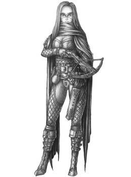 [COMMISSION] Sylvana Verintide - Human Rogue
