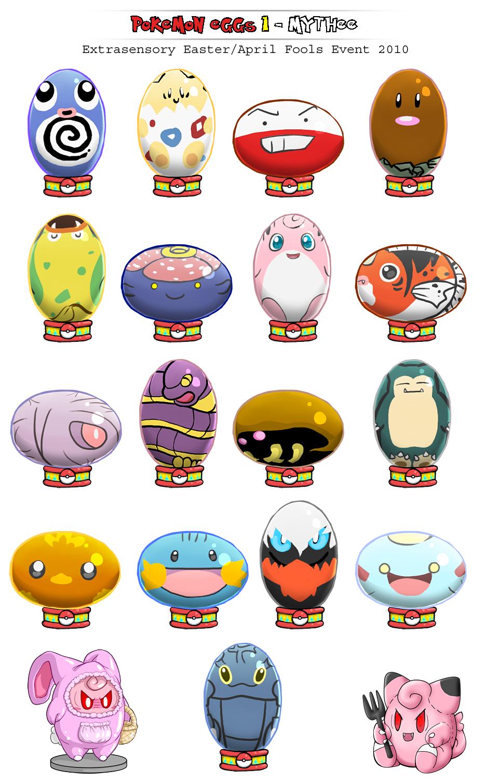Pokemon Easter Eggs N Bobtoys By Mythee On Deviantart