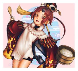 Fate/Grand Order - Benienma Saber by shiraishiku