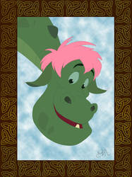 Elliott: Pete's Dragon by DisneyPsycho