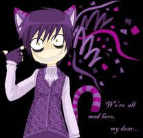 Cheshire Cat by PsychokittyPixels