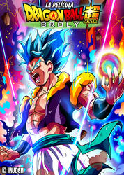 DRAGON BALL SUPER Broly -The Movie- Fan-art Poster by iruden