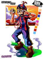 Balloon Boy x Pokemon Trainer Commission
