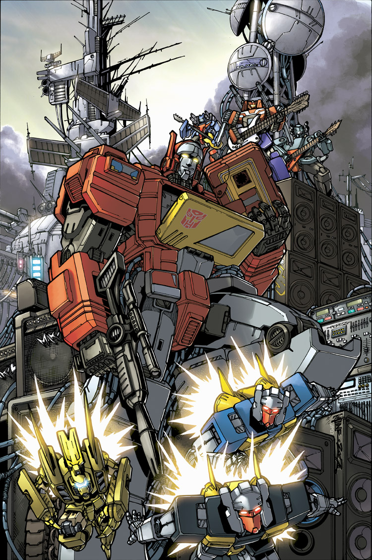 Transformers Cybertron robots picture