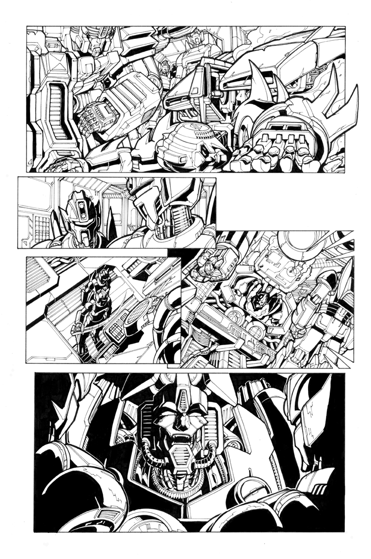 spotlight arcee pg 06 by markerguru