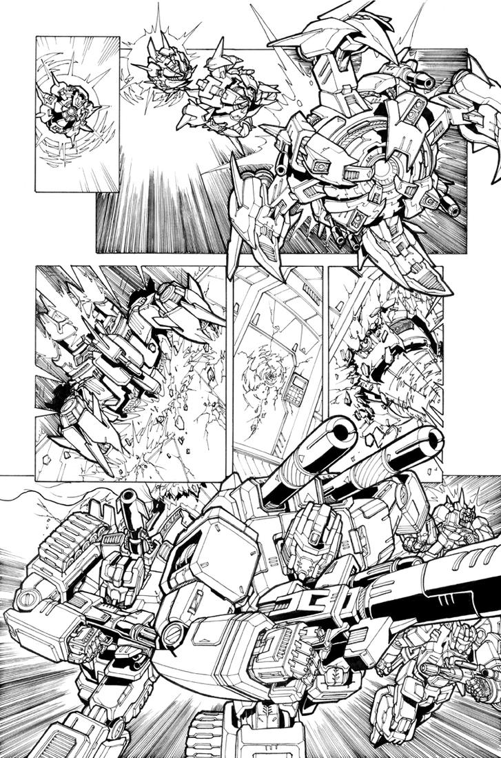 spotlight arcee pg 12 by markerguru