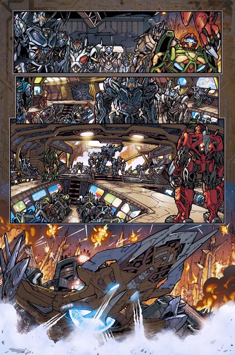 reign of starscream preview 3 by markerguru