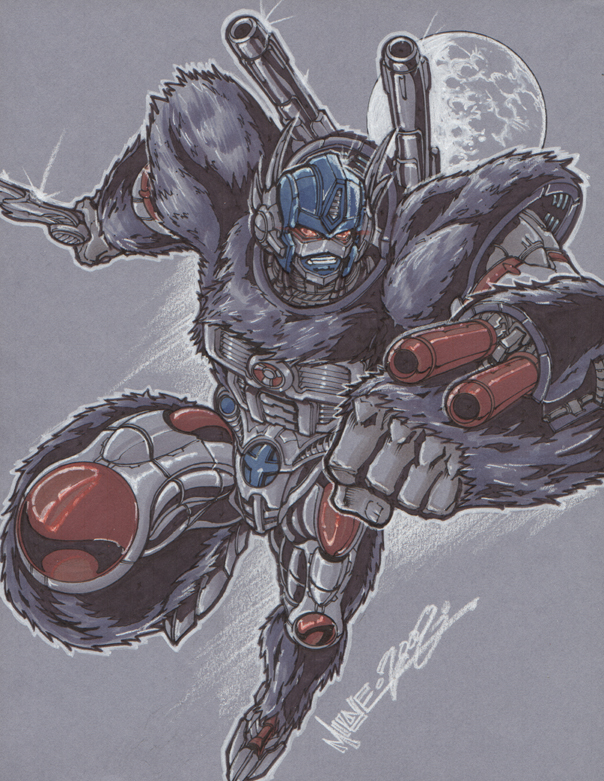 optimus primal by markerguru