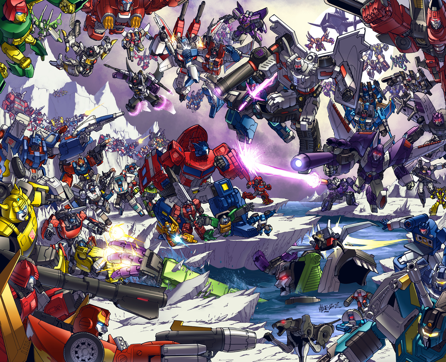 TFcon 2009 poster colors