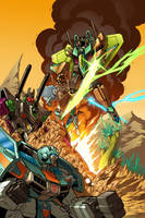 botcon 2009 con cover by markerguru