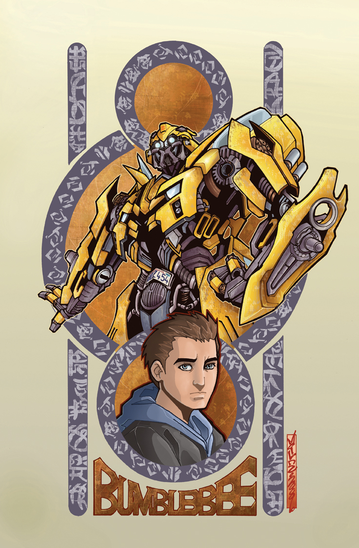 TF TOTF Bumblebee alt cover by markerguru