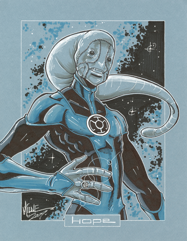 commission. saint walker by markerguru
