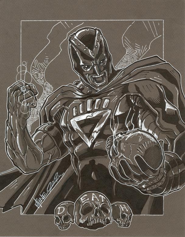 commission. black hand by markerguru