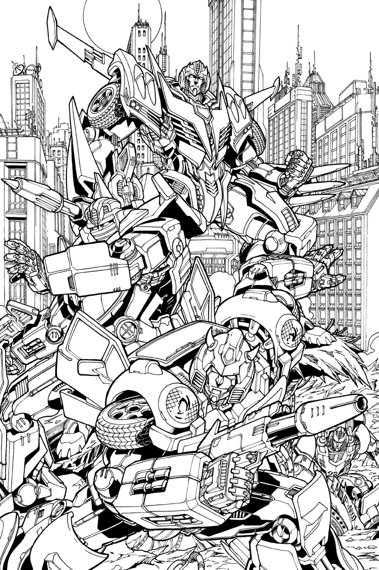 Autobots_inks by markerguru