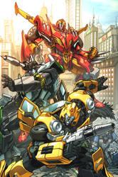 IDW Autobots by markerguru