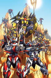 TF Drift issue 2 cover by markerguru