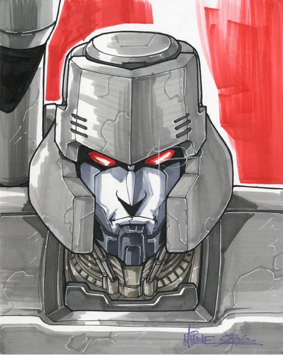 Megatron 02 by markerguru
