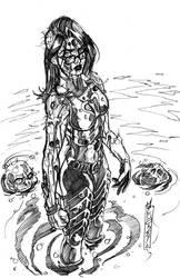 Infestation baroness sketch