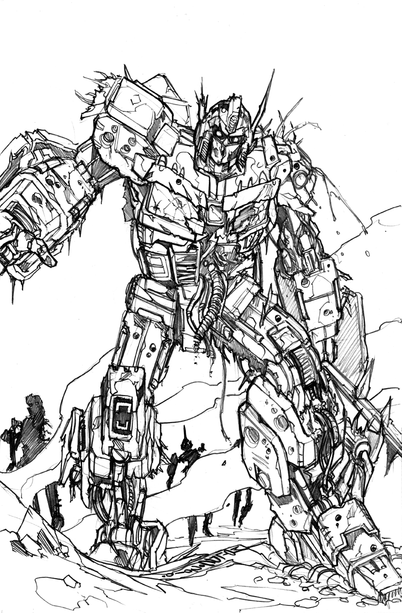 Infestation Prime sketch by markerguru