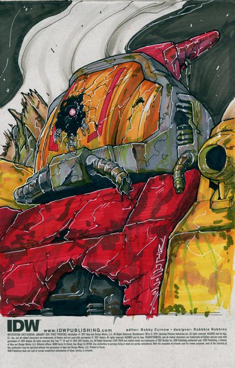 Infestation Omega Supreme by markerguru