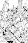 Ultra Magnus lineart