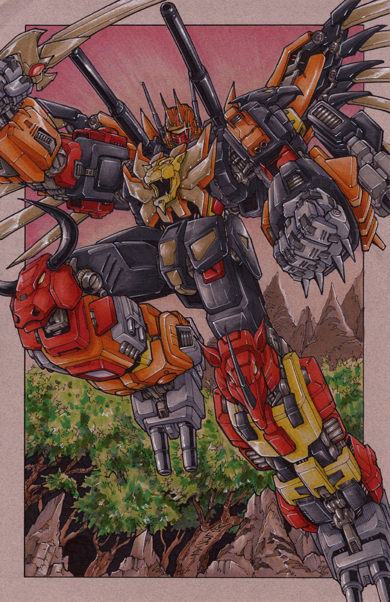 commission predaking by markerguru
