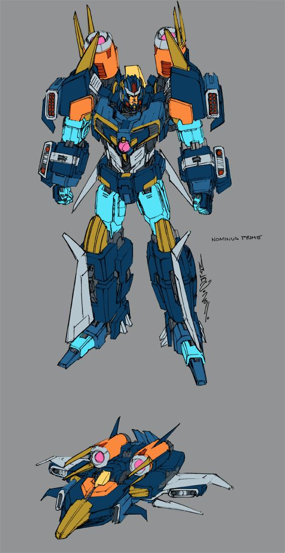 [BD IDW] Q&R: Nova Prime vs Nemesis Prime | Nominus Prime |Tarn | Wreackers & Mayhem Attack Squad | Reign of Starscream | Magazine TF | Switching Gears | Panini TF | Quoi lire | etc - Page 2 Nominus_prime_colour_guide_by_markerguru-d46wxhr