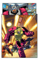 TFcon 2011 comic pg01 by markerguru