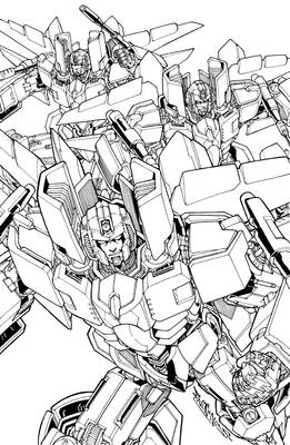 Ongoing seekers lineart