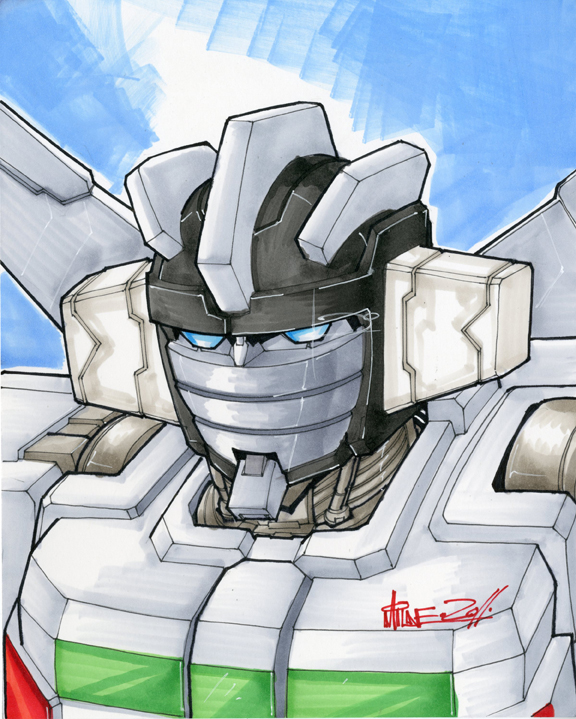 wheeljack by markerguru