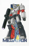 Megatron commission colours