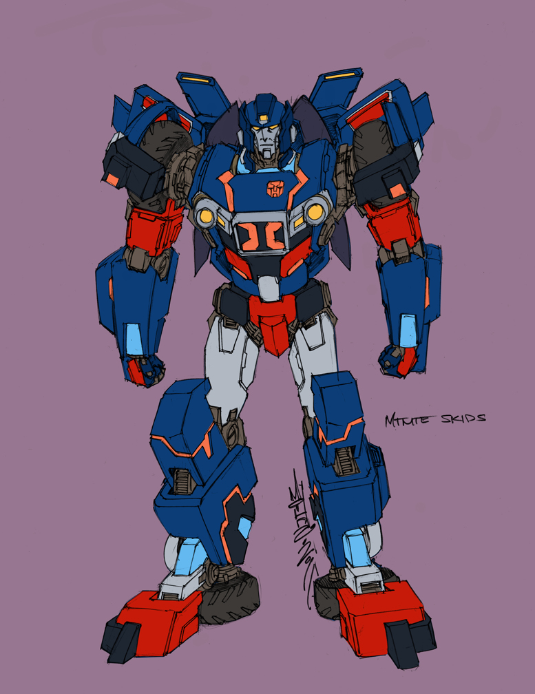 MTMTE Skids design colors by markerguru