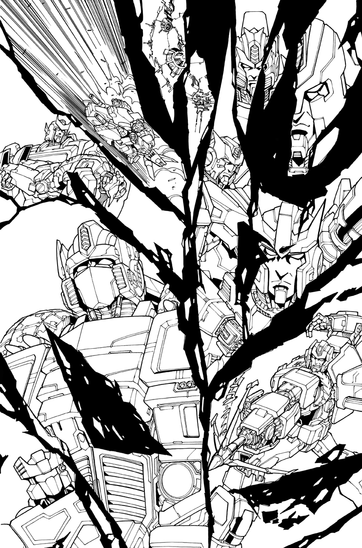 TF MTMTE 09 cover lineart