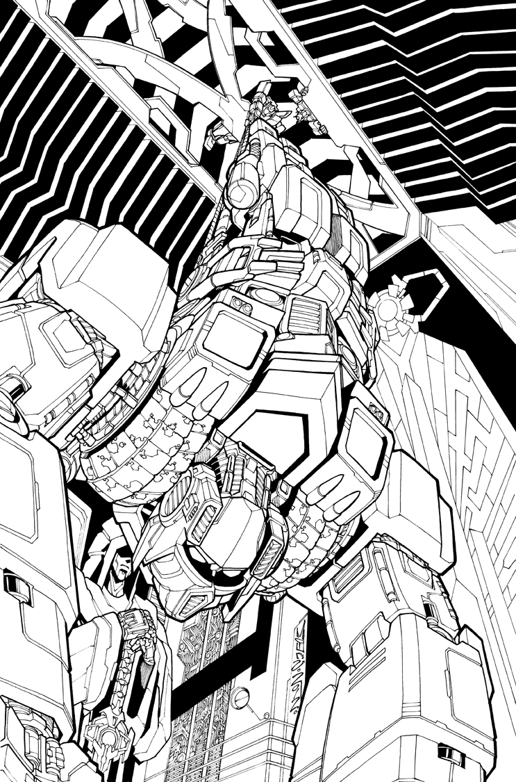 TF MTMTE 11 cover lineart